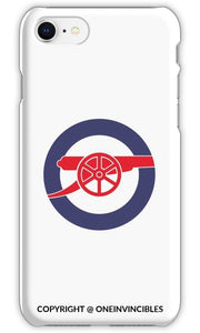 Arsenal Cannon In Blue Circle Phone Cases