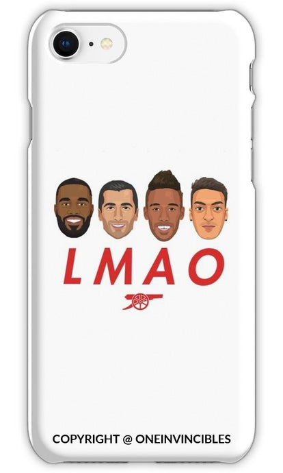 Arsenal Lmao Iphone 6 / Tough White Phone Cases