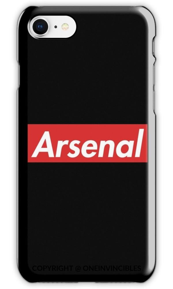 Arsenal Logo In Supreme Font Iphone 6S / Tough Black Phone Cases