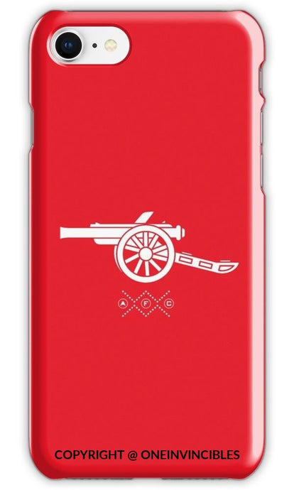 Arsenal Unique Cannon Design Phone Cases