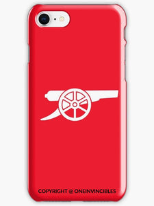 Arsenal White & Red Inverted Iphone 6S / Tough Phone Cases
