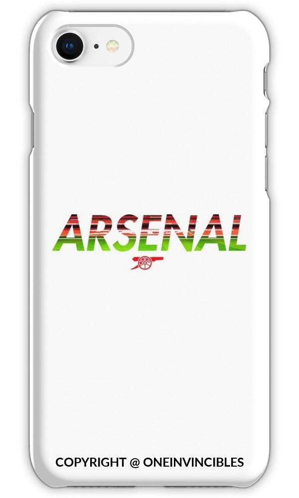 Arsenal With Stadium Background Phone Cases