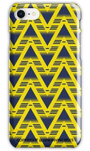 Arsenal Yellow Triangle Design Phone Cases