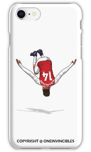 Aubameyang Backflip Iphone 6S / Tough White Phone Cases