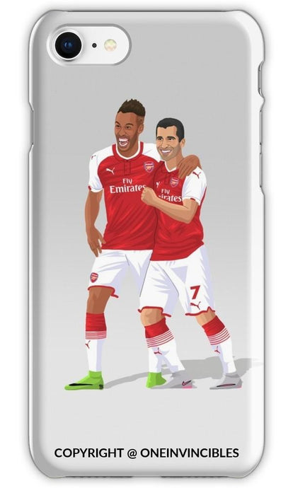 Aubameyang & Mkhitaryan Phone Cases