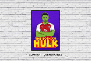 Kolasinac The Hulk In Wall Print A4