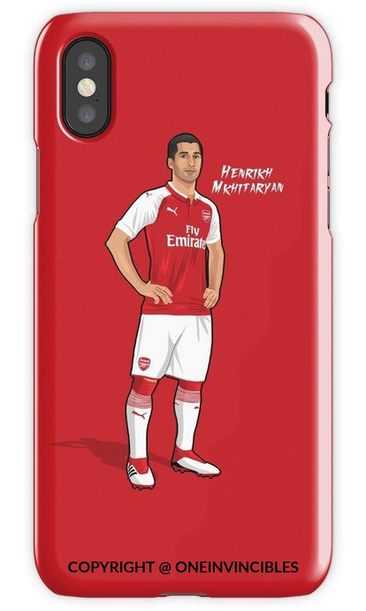 Mkhitaryan Kits Iphone 6S / Tough Red Phone Cases