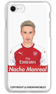 Nacho Monreal Phone Cases