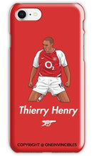Thierry Henry Celebration Iphone 6 / Tough Red Phone Cases
