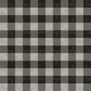 Plaid - gray
