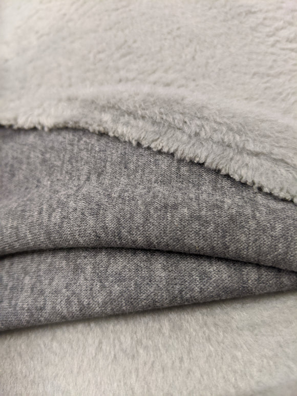 Cozy Polar Fleece - Medium Heather Grey