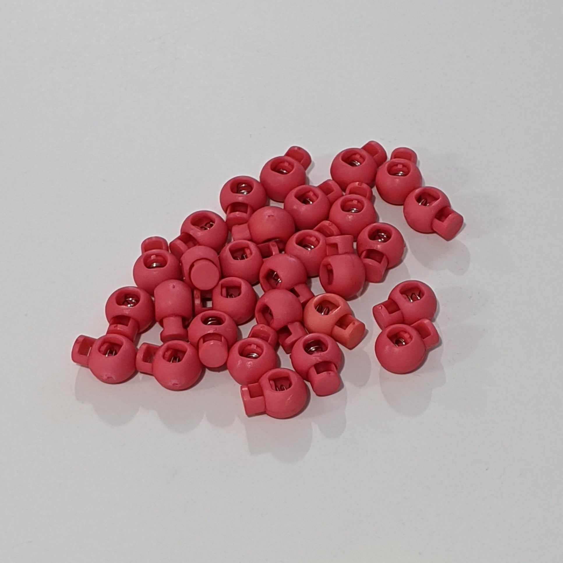 8mm Drawstring Cord Stopper - Watermelon