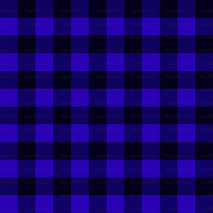 Plaid - blue\purple
