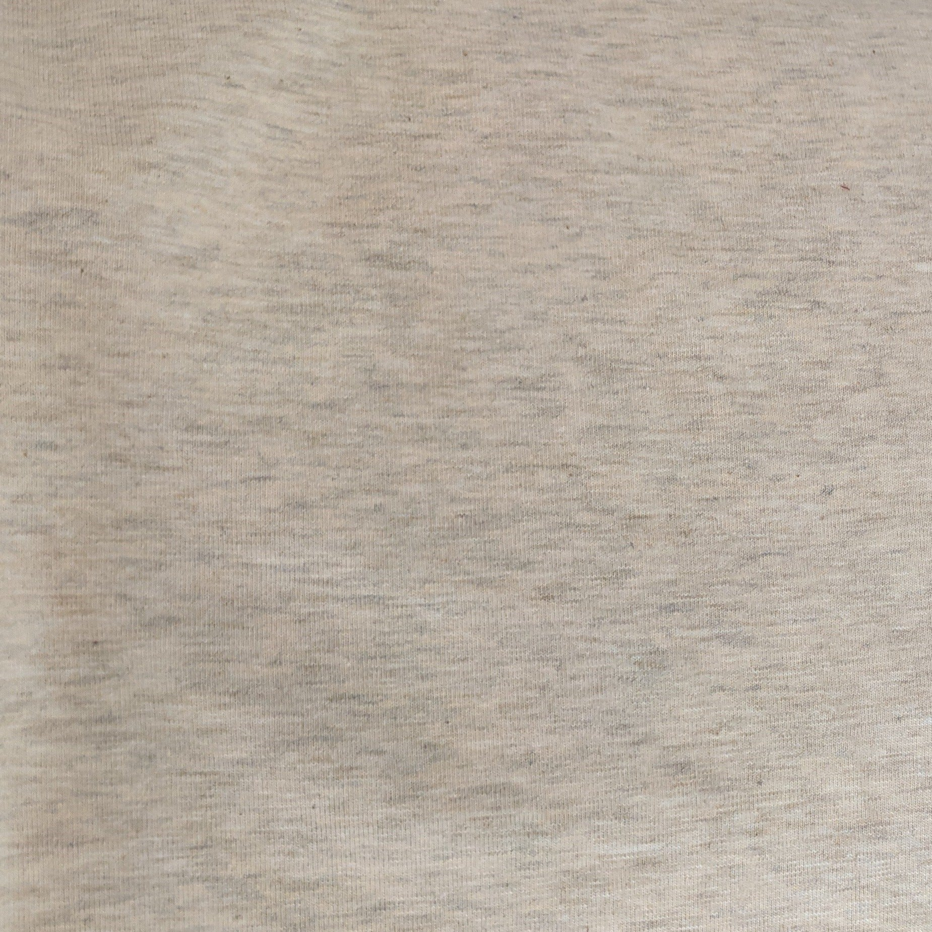 Oatmeal Heather  -  Jersey Knit (200 gsm)