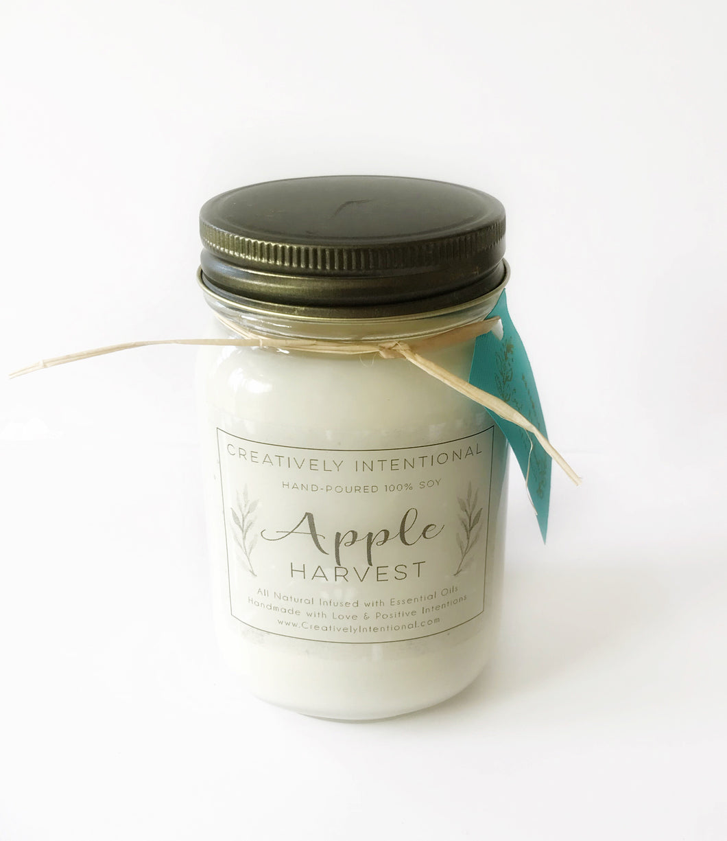 Apple Harvest Soy Candle Pint 16 oz