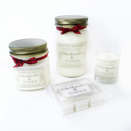 Chestnuts & Cider Soy Candles & Melts