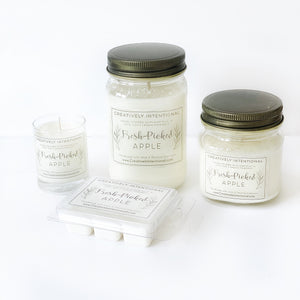 Fresh-Picked Apple Soy Candles & Melts