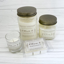 Citron & Mandarin Soy Candles & Wax Melts
