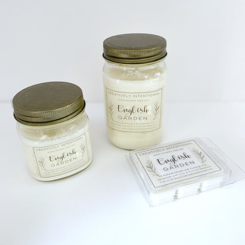 English Garden Soy Candles & Melts