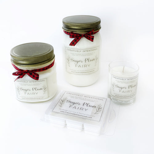Sugar Plum Fairy Soy Candles & Melts