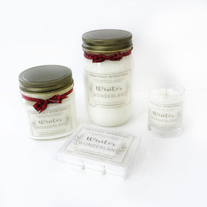 Winter Wonderland Soy Candles & Wax Melts