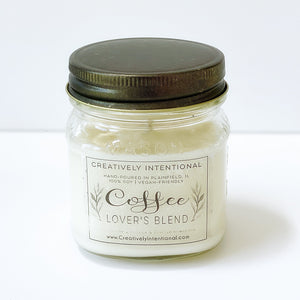 Coffee Lover's Blend Soy Candles and Melts