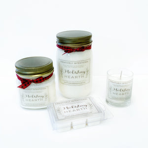 Holiday Hearth Soy Candles & Melts