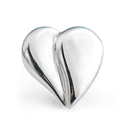 The Loving Heart Pin - Sterling Silver