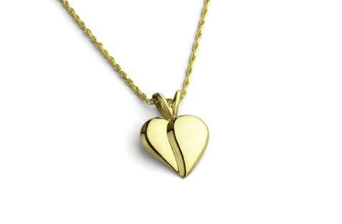 Loving Heart Necklace - 14K Gold
