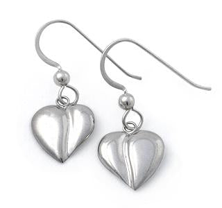 Loving Heart - Swinging Heart Earrings