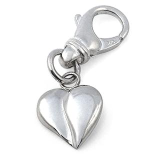 Loving Heart Collar Charm