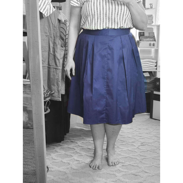 Blue Bells Pleated Skirt