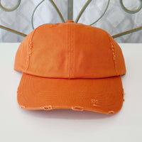 Customizable Thick Stitch Ball Cap