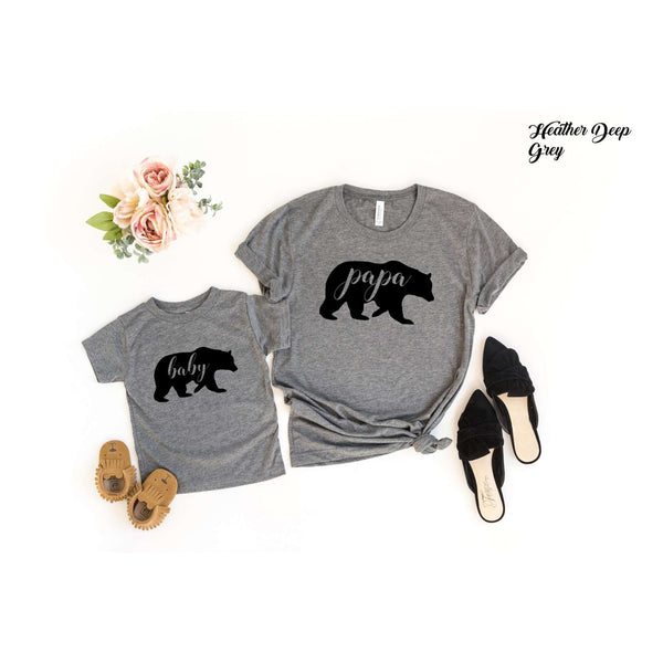 Papa Bear/Baby Bear Graphic Tee
