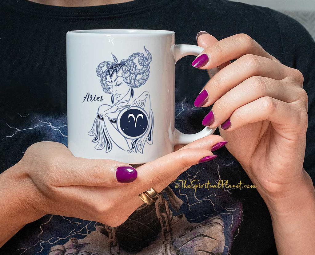 Aries Coffee Mug Aries Zodiac Mug Aries Gift Aries Birthday Gift Aries Zodiac Sign Aries Astrology Gift Aries Horoscope Aries Sign