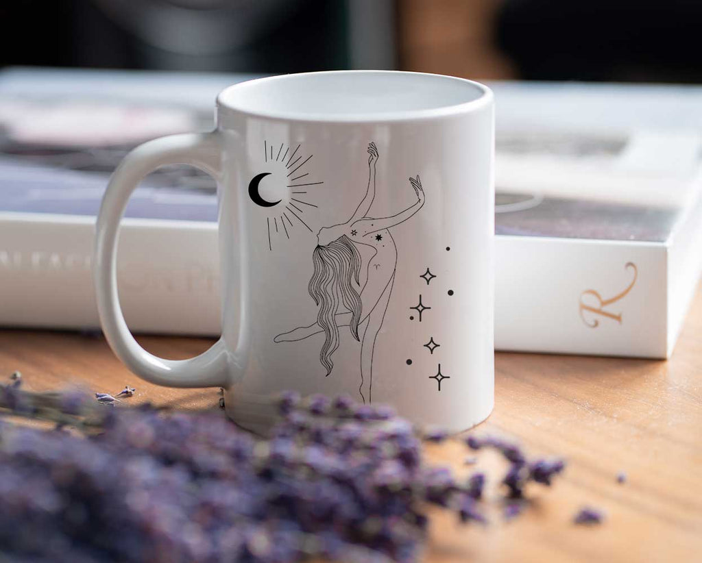 Aries Goddess Ceramic Mug - The Spiritual Planet