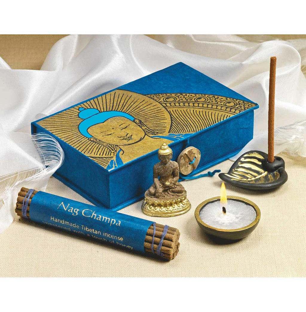 Buddha Travel Altar portable altar incense ttravel altar kit buddhist travel altar how to make a travel altar hindu travel altar crystals