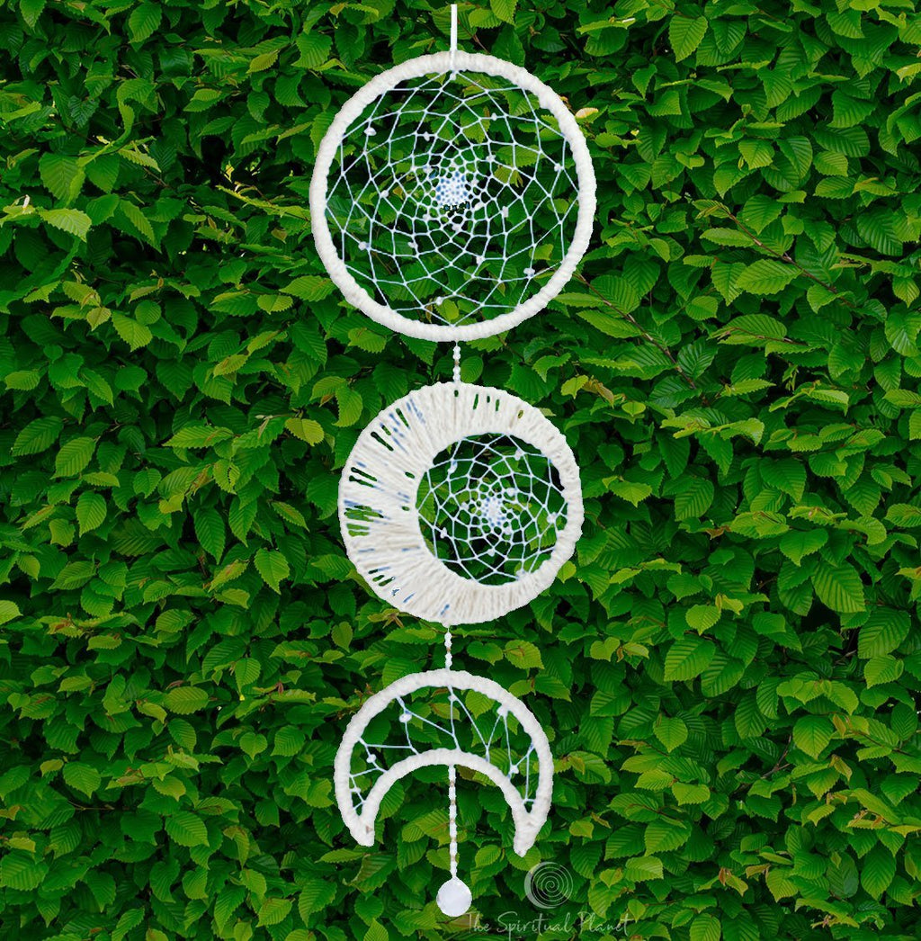 Moon Phase Dreamcatcher Dream Catcher Moon Dream Catcher Designs Macrame Large Dream Catcher Dreamcatcher