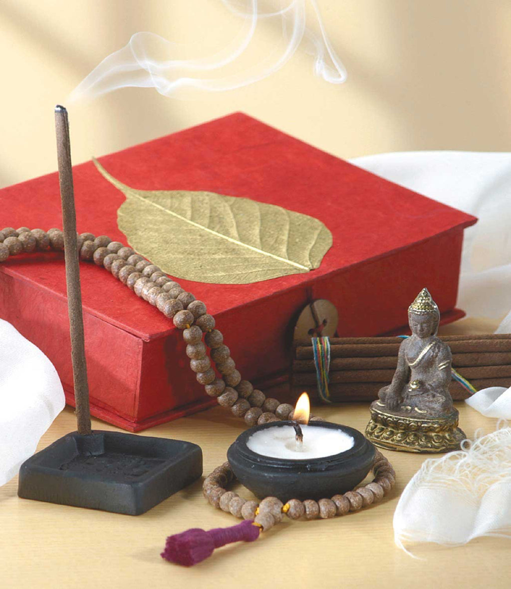 Gold Bodhi Travel Altar Buddha Travel Altar portable altar incense ttravel altar kit buddhist travel altar how to make a travel altar hindu travel altar crystals
