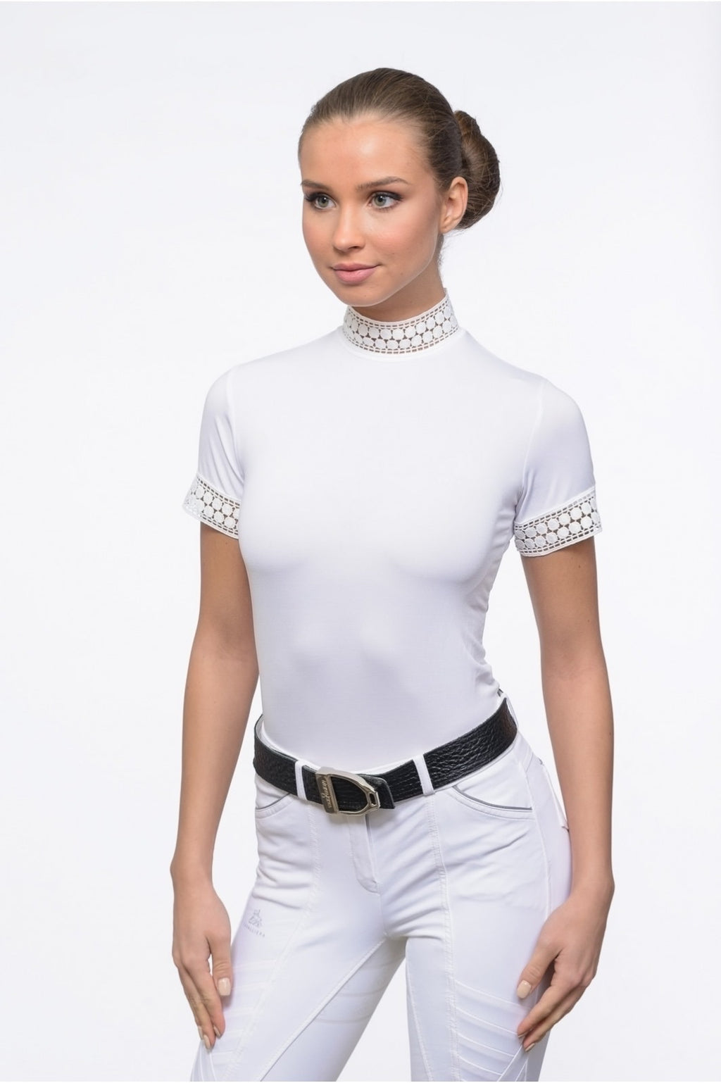 Cavalliera Bella Lace Technical Show Shirt