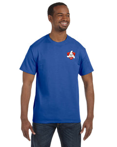 Short sleeve Royal T-shirt with Back graphic