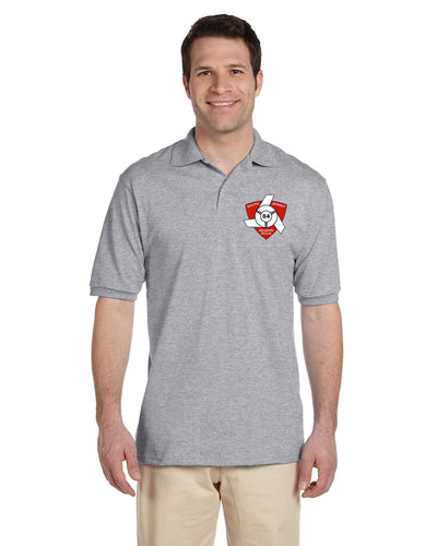 Short sleeve Oxford Polo