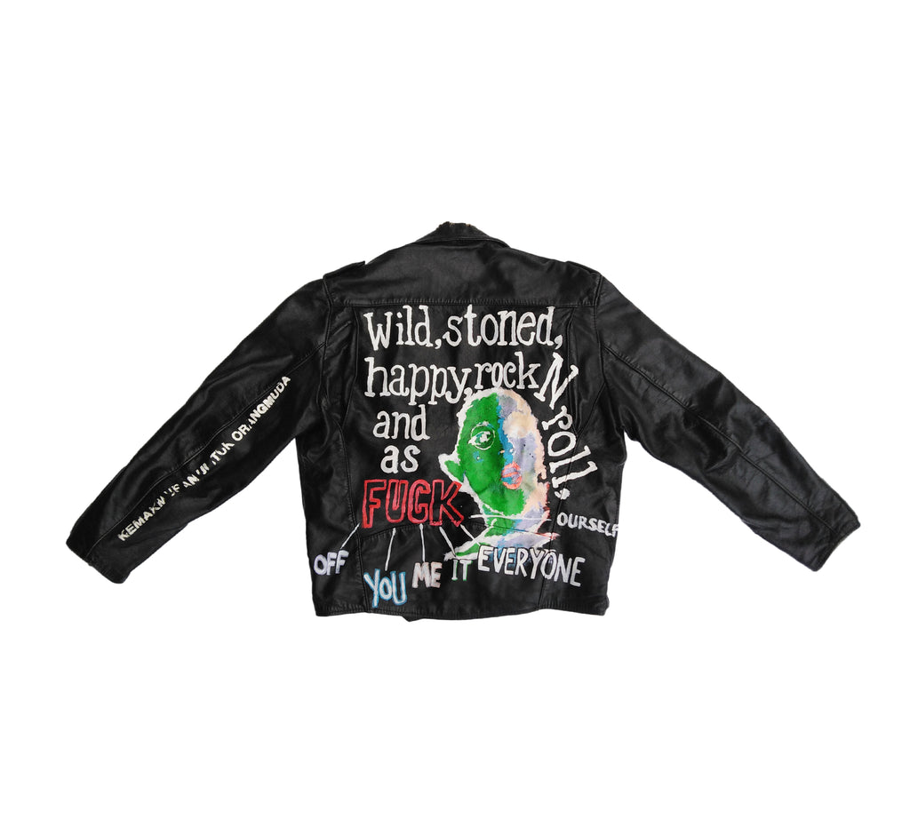 ART IS TERROR | BIKER JACKET