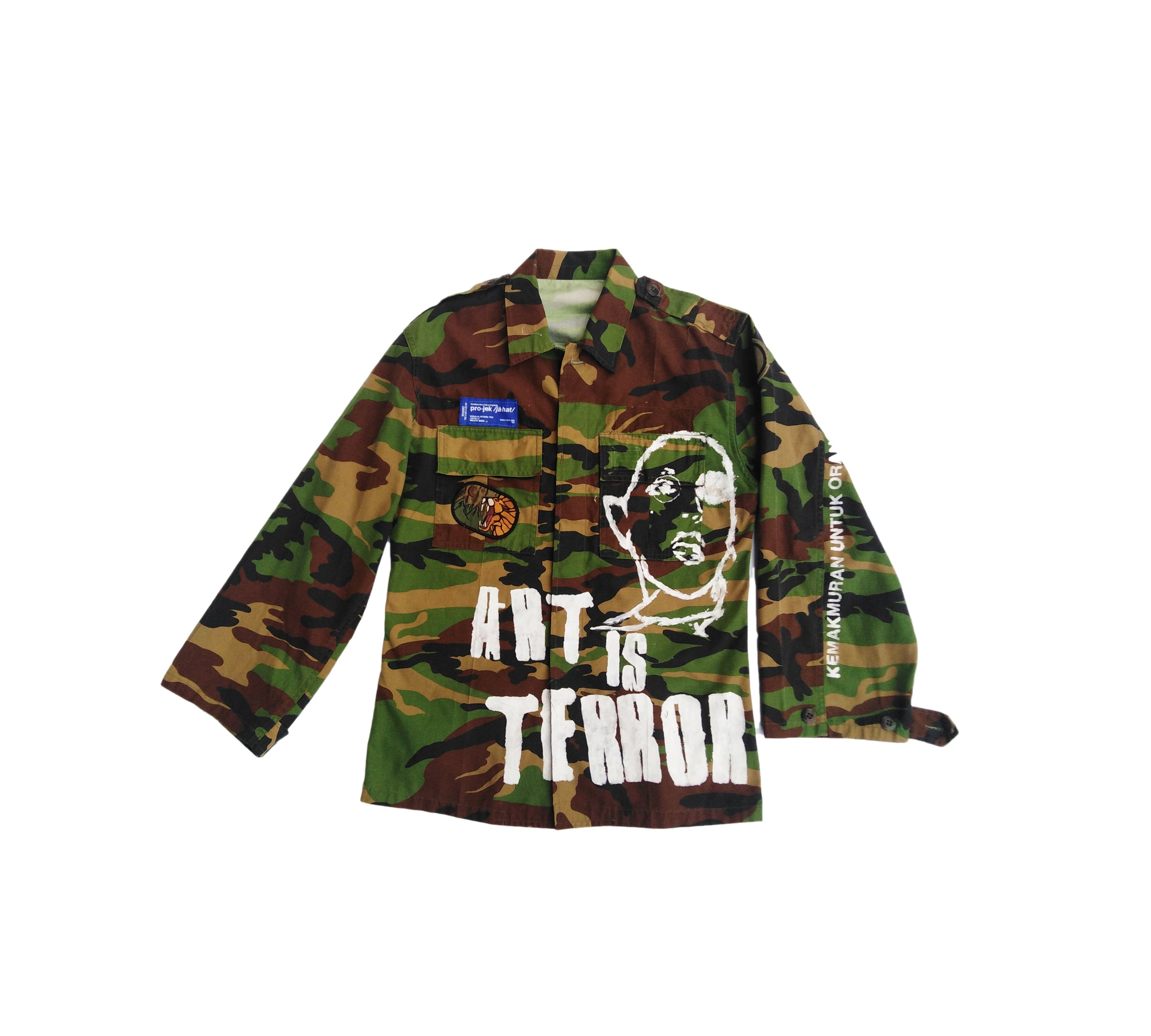 ART IS TERROR | RUSTED CAMO JACKET