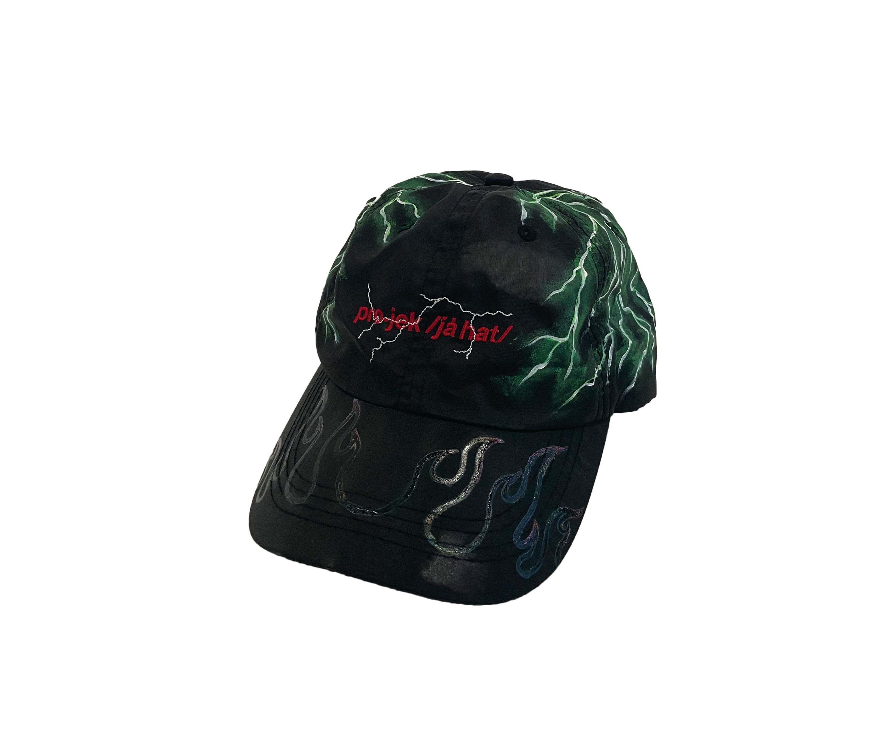 THUNDER GREEN CAP