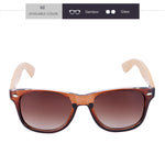 BEMUCNA Wood Sunglasses for Women