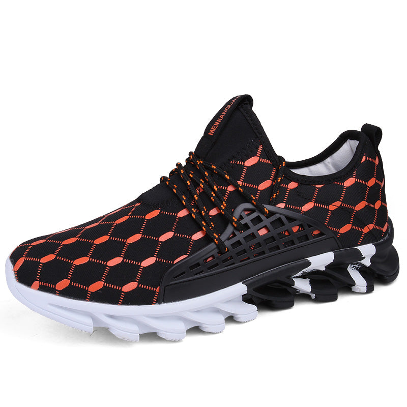 Men's Sport Sneakers, Comfortable Sports Outdoor Breathable Running Shoes
