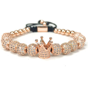 CZ Imperial Crown Bracelet