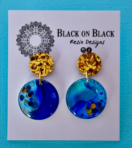 Ink Earring Mini Dangle J41