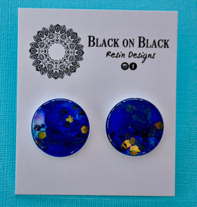 Ink Earring 25mm J39